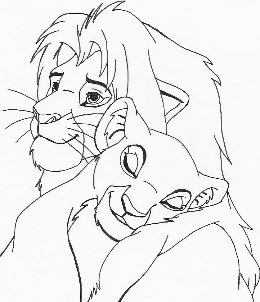 Nala Lion King Drawing at GetDrawings | Free download