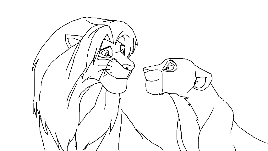 Nala Lion King Drawing at GetDrawings.com   Free for personal use ...