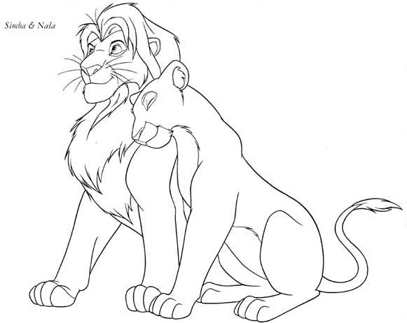 581x462 Tj's Lion King Page
