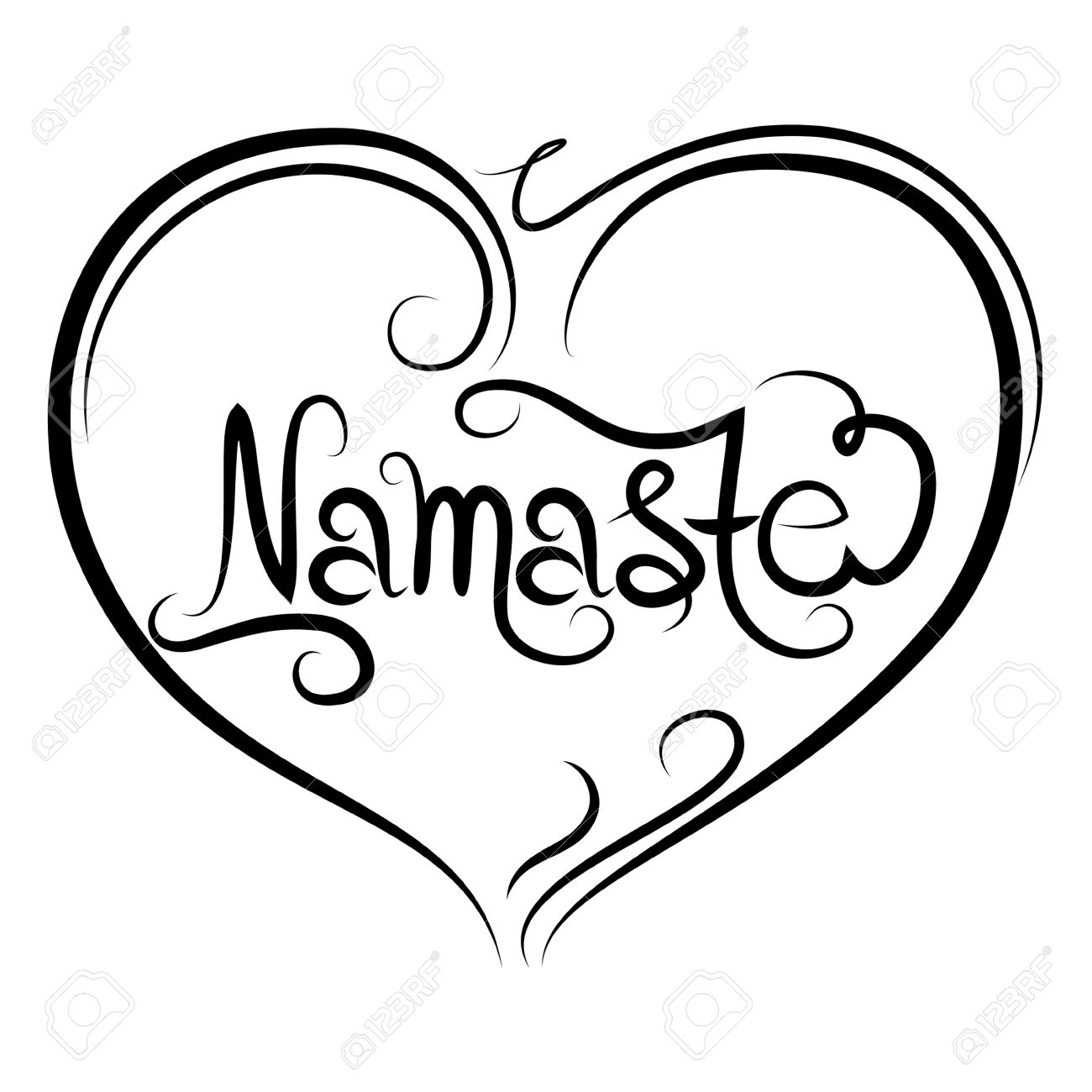 1300x1300 Indian Greeting Banner Namaste Royalty Free Cliparts, Vectors,