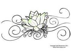 236x177 Namaste Lotus Drawing Large Print Black White By Dhanadesign