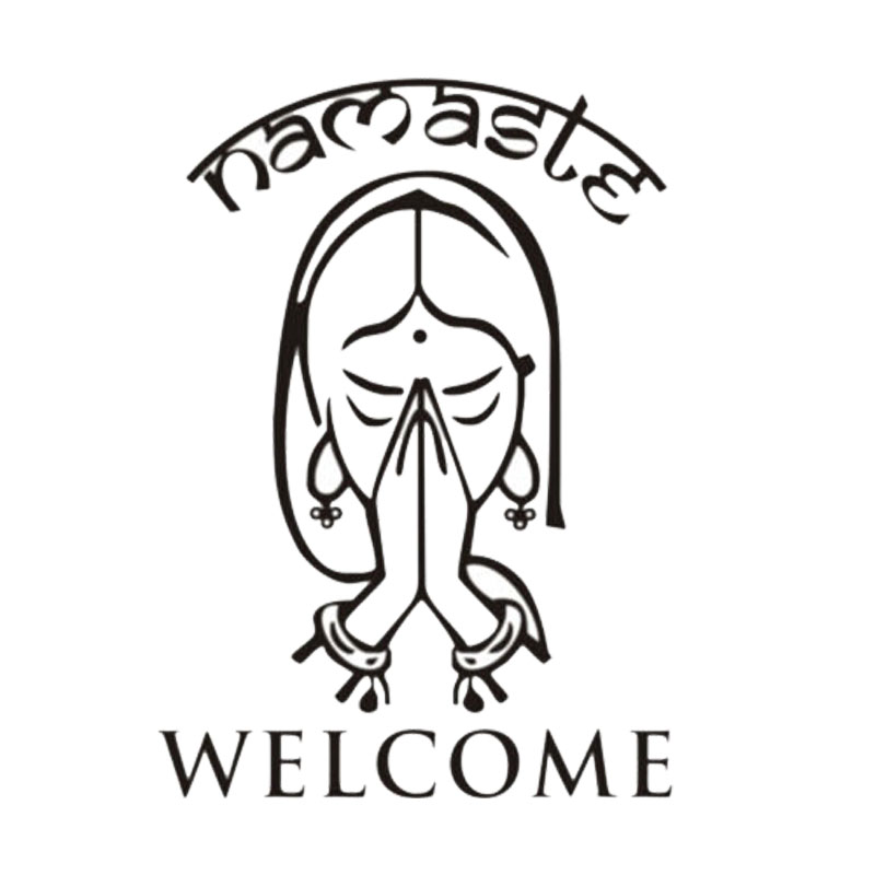 800x800 Buy Namaste Car Decal And Get Free Shipping