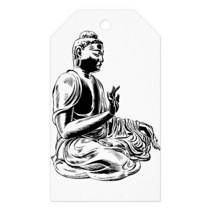 422x422 Buddha Gift Tags