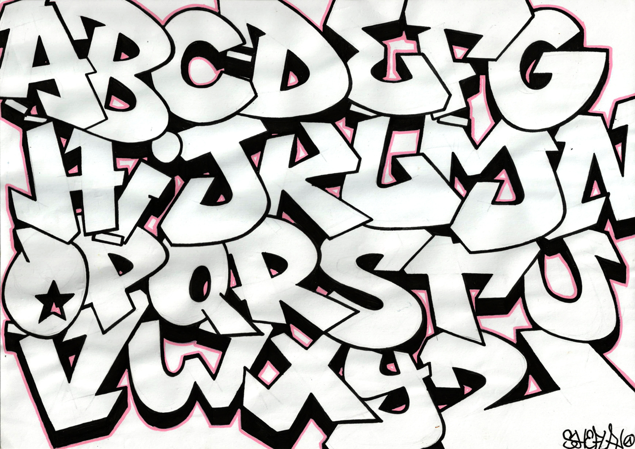 1280x905 Graffiti A To Z Name Drawings How To Draw Graffiti Letters A Z