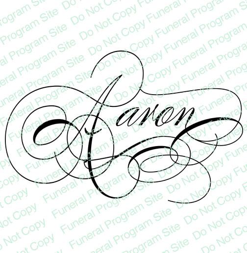 504x516 Name Art Personalized Elegant Script Names