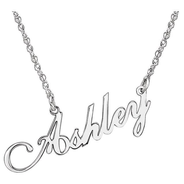 640x640 Nameplate Necklaces Adore Bijoux Jewelers Plano, Tx