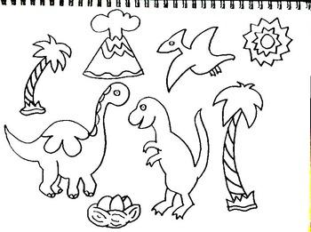 350x261 Art Is Jurassic Dinosaurs Standups Amp Classroom Tagslabels (12