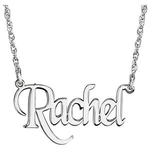 300x300 Block Nameplate Necklace The Locked Box Boutique