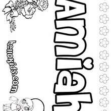 220x220 Amber Coloring Pages