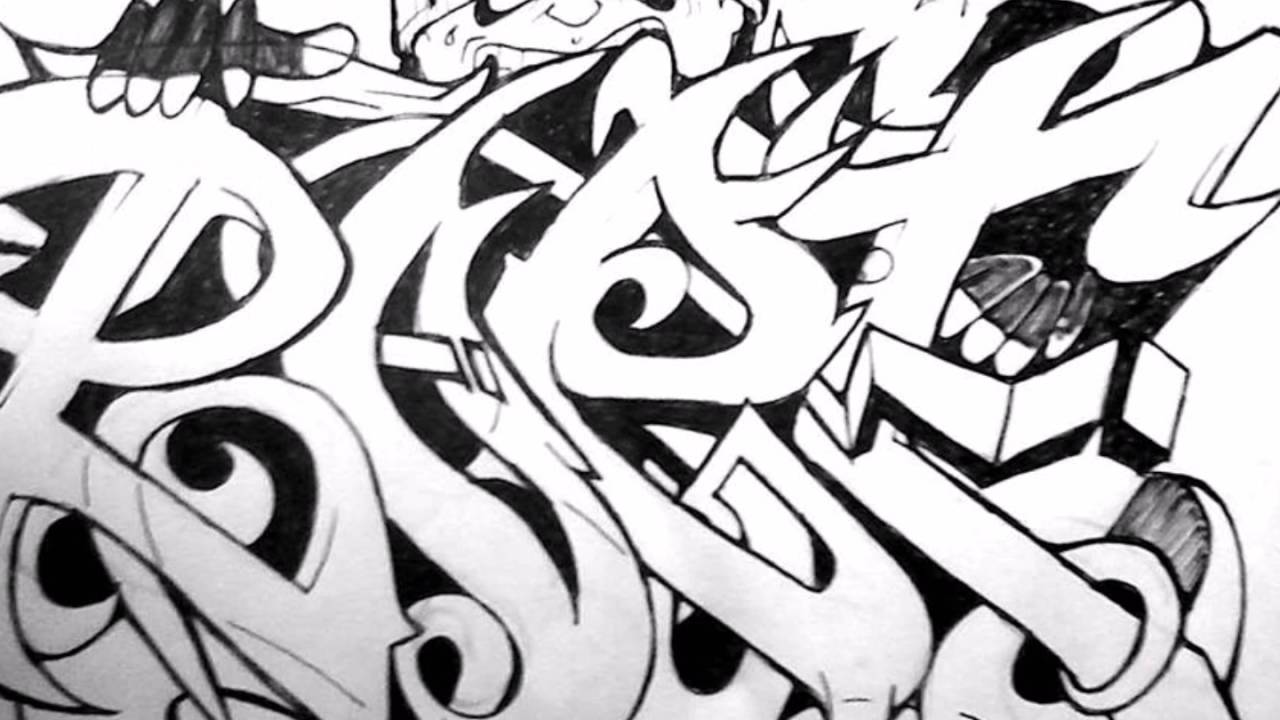 1280x720 Graffiti Drawings Names Requested