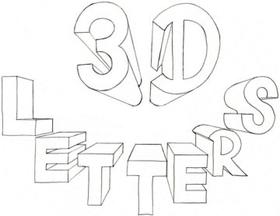 280x216 How To Draw 3d Letters Names Amazing! Learn To Sketch