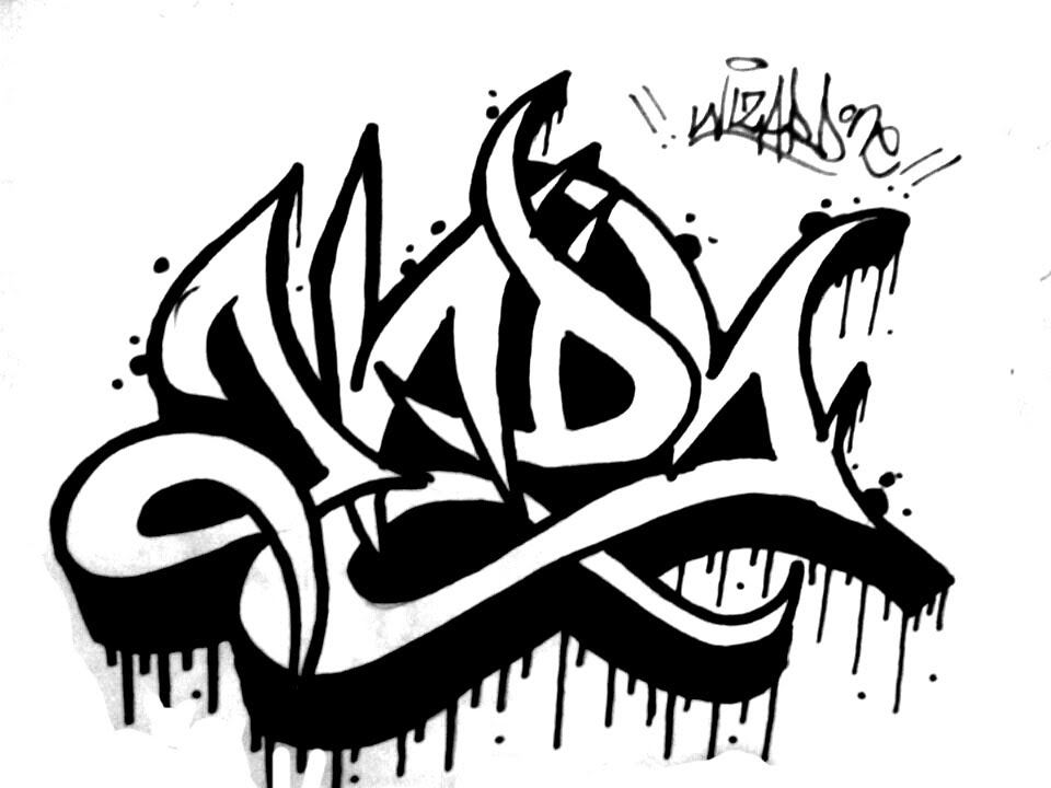 960x720 How To Draw Graffiti Name Andy