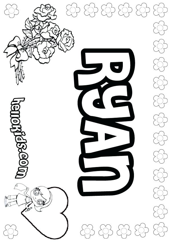 600x849 Ruby Coloring Pages Coloring Page Name Coloring Pages Girls Name