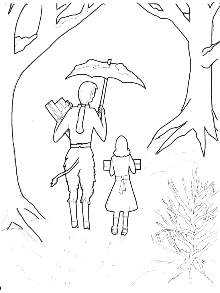 Narnia Lamppost Drawing at GetDrawings.com | Free for personal use ...