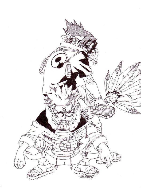 600x800 Naruto + Sasuke