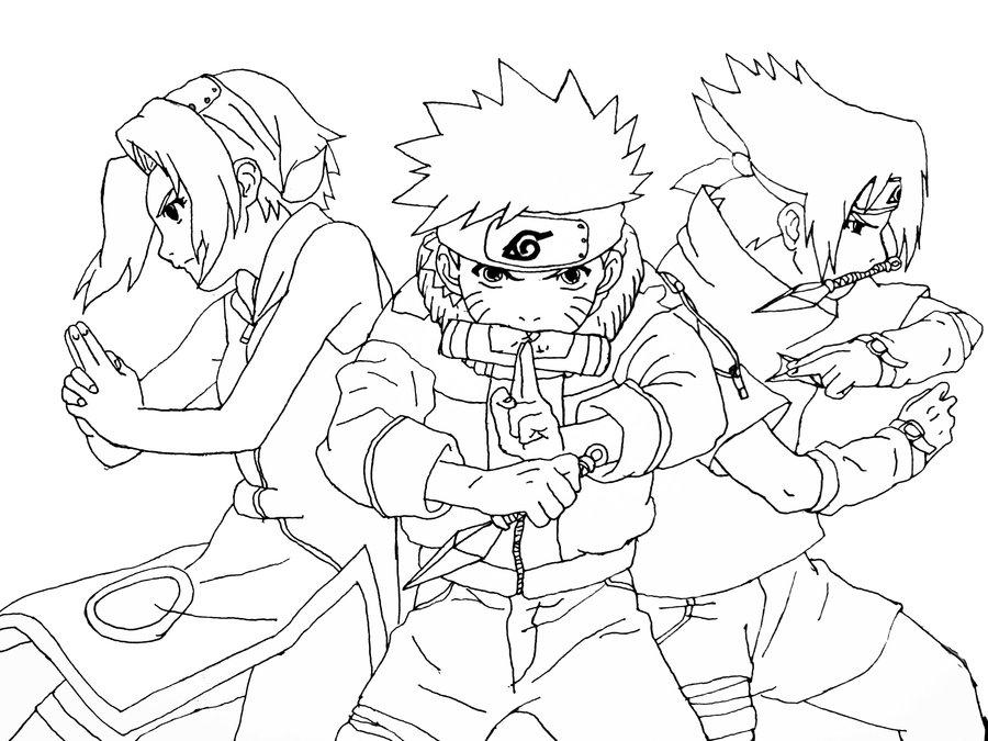 900x675 Naruto Sasuke And Sakura By Suuki162006