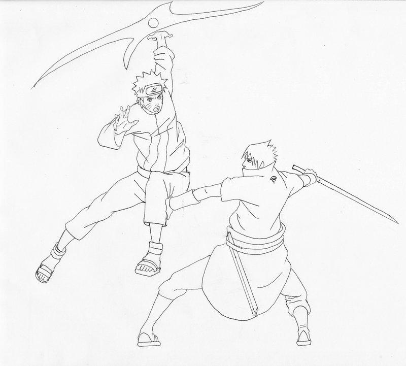 800x721 Naruto Vs Sasuke By Artiespades