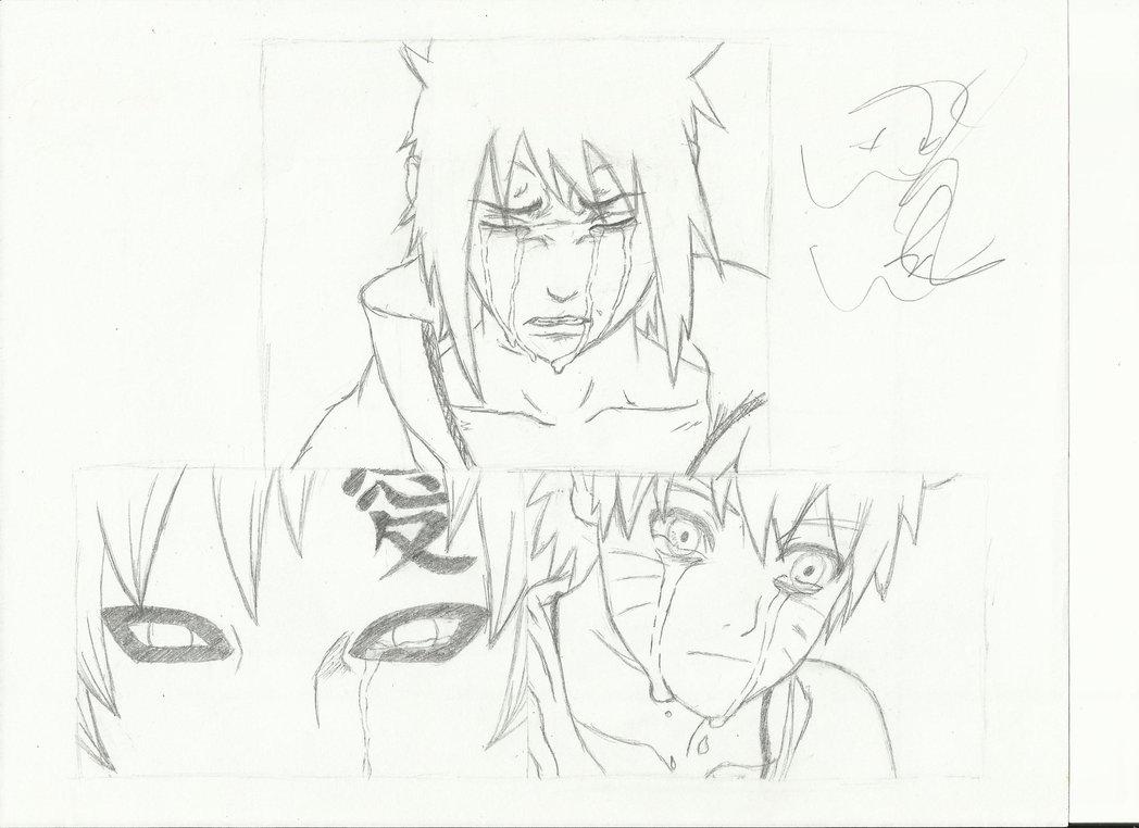 1048x762 Sasuke, Gaara And Naruto By Sprinklesprankles