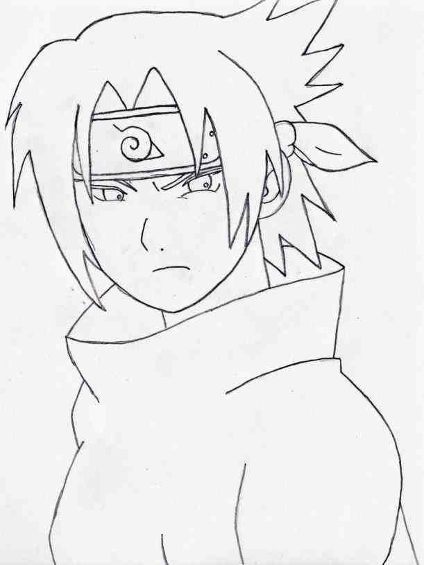 611x815 Sasuke Drawings In Pencil Easy Drinkeats.club