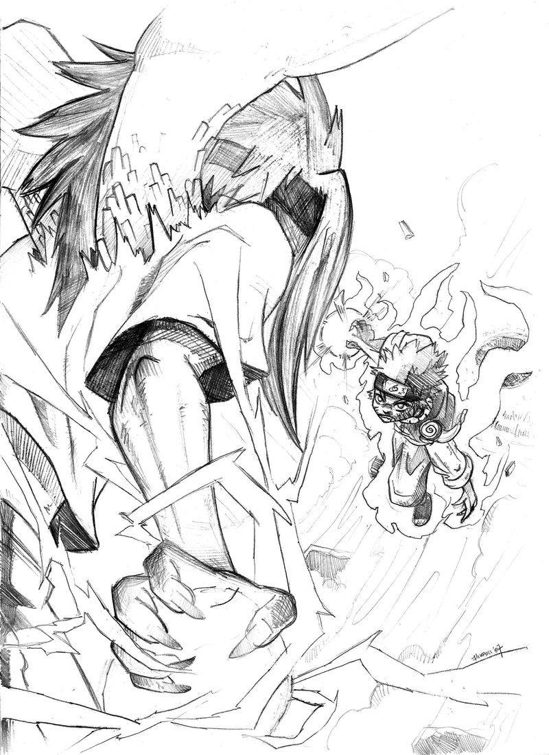 800x1100 Sasuke X Naruto By Hikari151