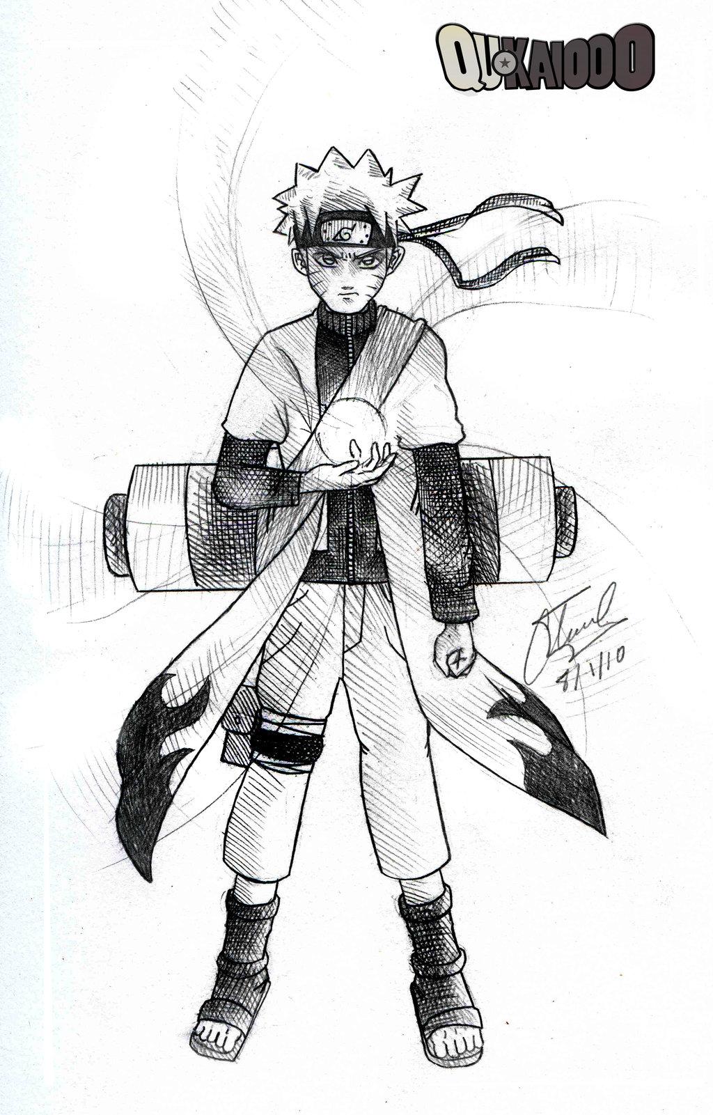 1024x1601 Naruto Sage Mode Pencil by qukai415 on DeviantArt