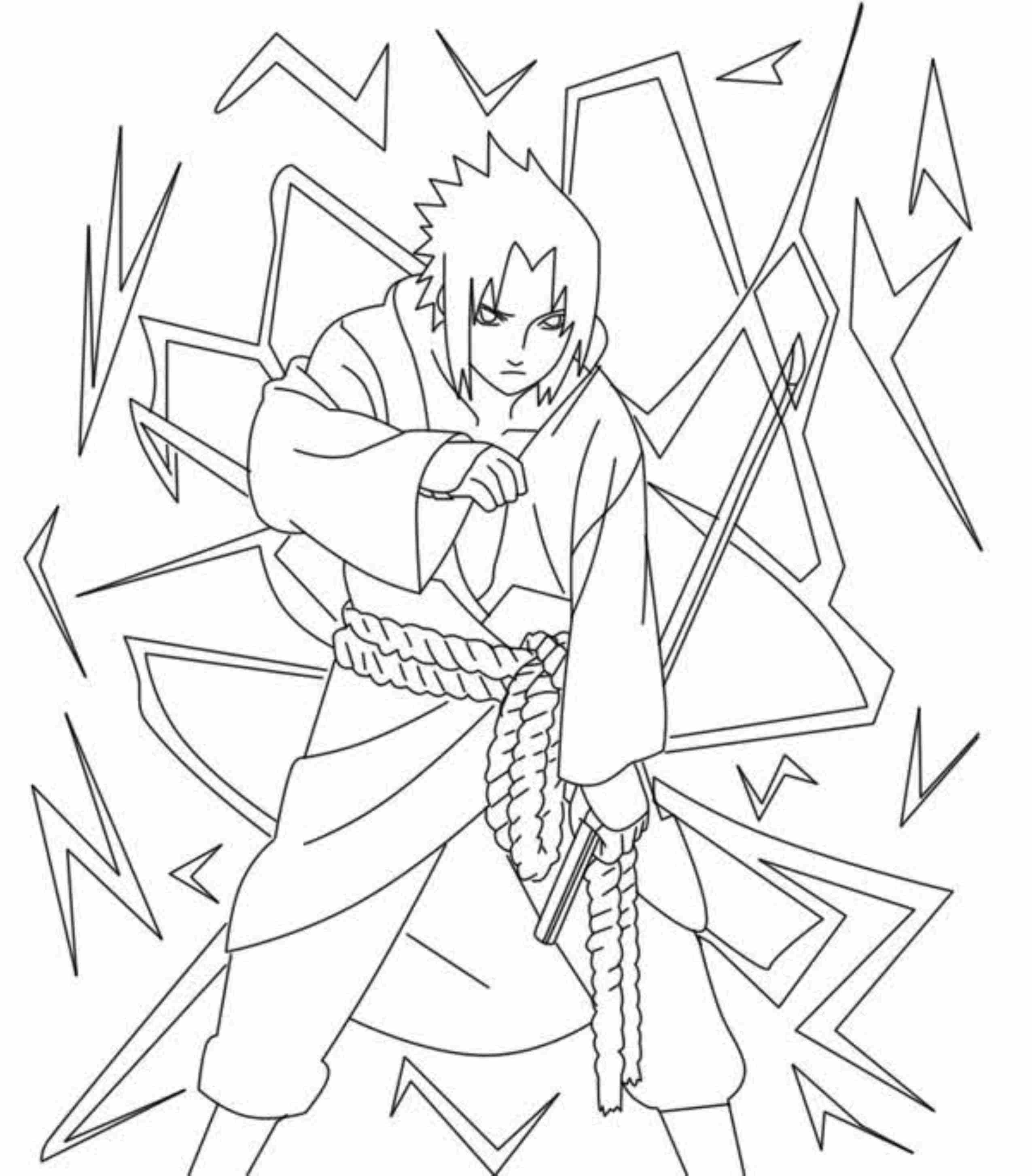 Naruto Characters Drawing At GetDrawings