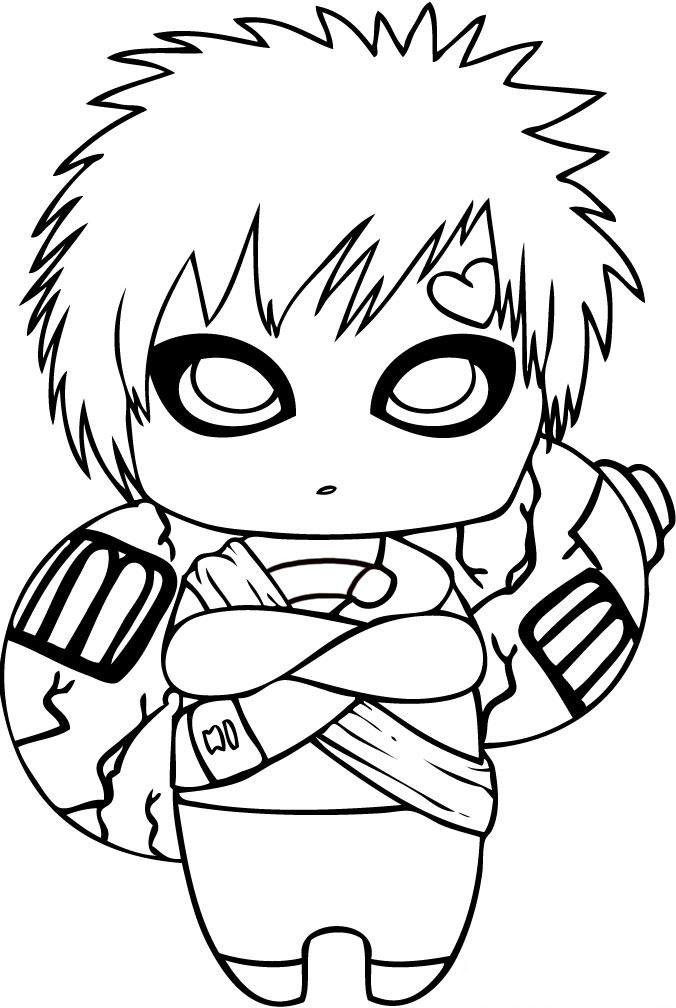 676x1008 gaara children naruto coloring pages pinterest gaara naruto