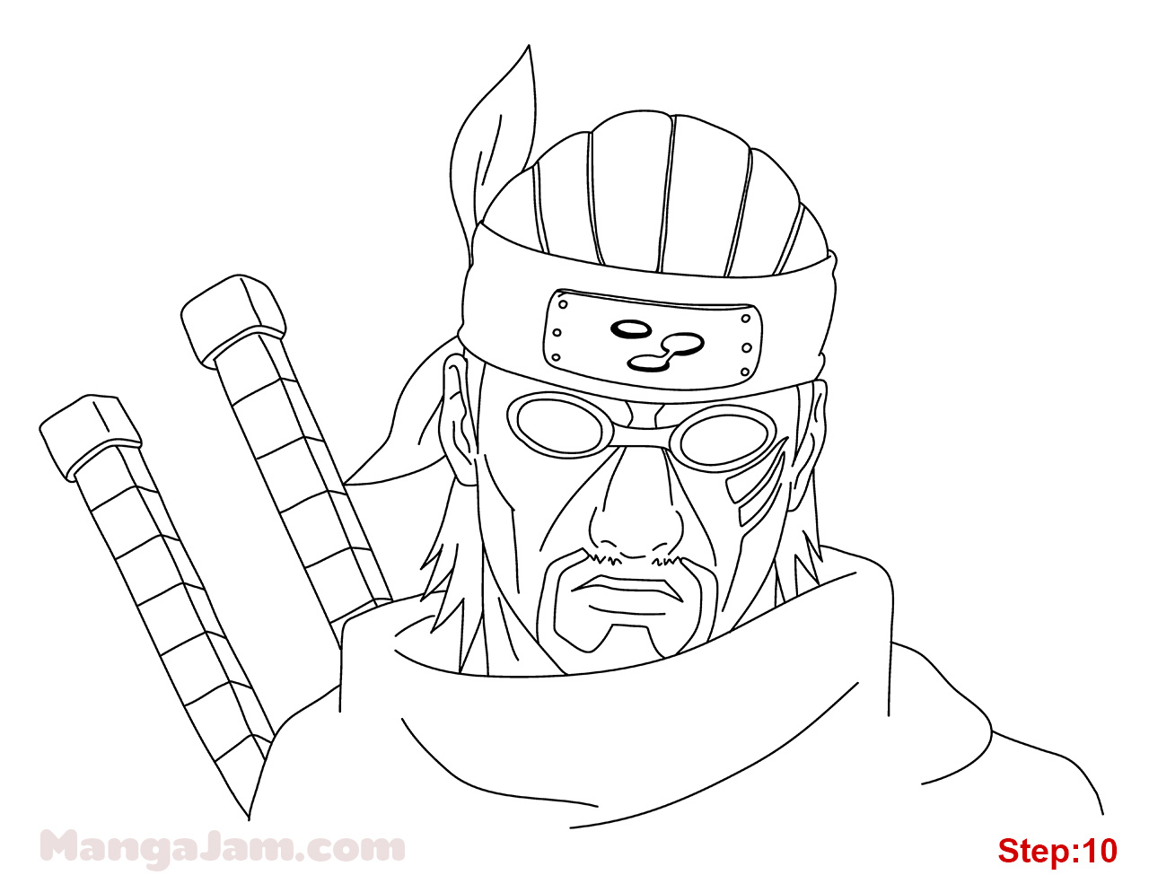 1280x975 How to Draw Killer from Naruto