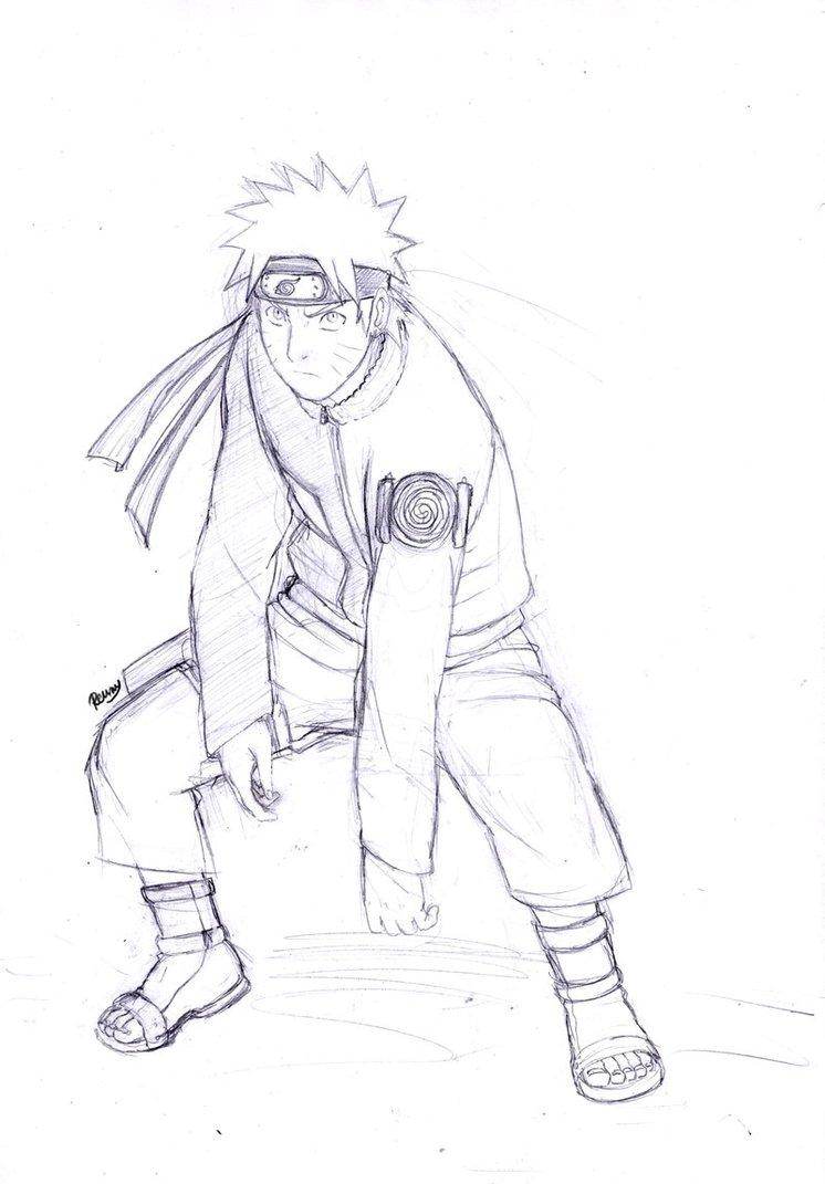 746x1071 Naruto Sketch 1 by Renny08 on DeviantArt