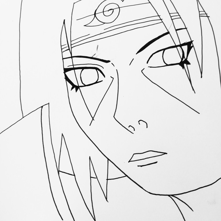 767x767 Pin by Julie Pastoft on Naruto drawings by me Pinterest Naruto