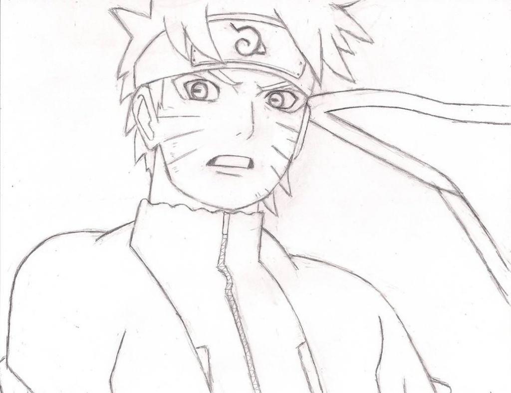 1024x787 Sketch Anime Naruto Anime Naruto Sketch