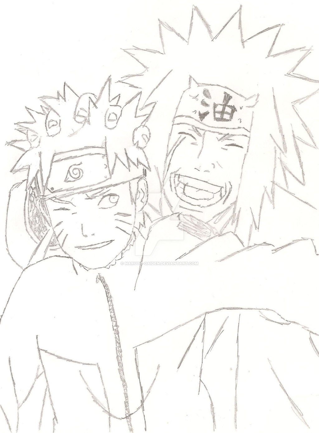 1024x1388 Teacher And Master Naruto And Jiraiya by Naruto Gaiden on DeviantArt