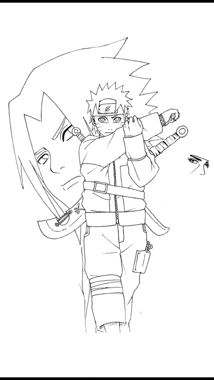 720x1280 Drawing Naruto apk download from MoboPlay