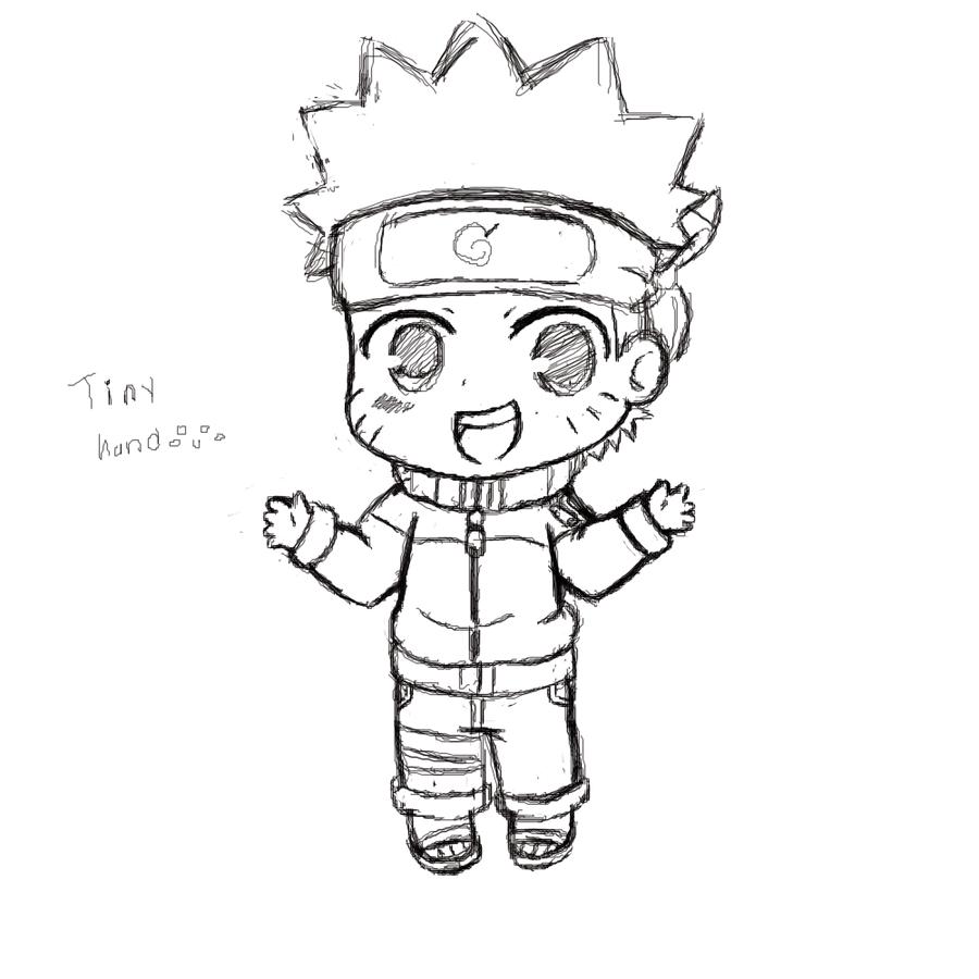 900x900 Drawn Naruto Chibi