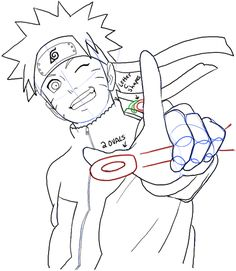 236x271 Learn How To Draw Kakashi Hatake From Naruto (Naruto) Step By Step