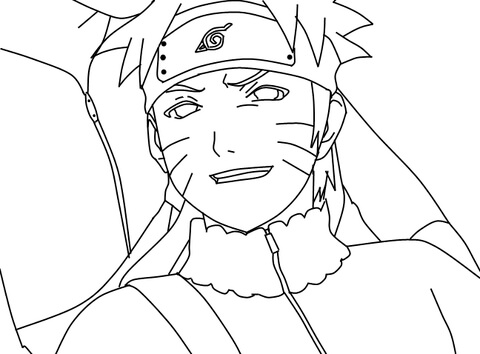 480x354 Naruto Coloring Pages To Print Naruto Coloring Page Free Printable