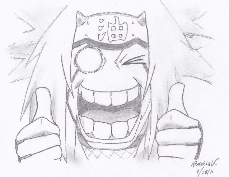 Naruto Drawing In Pencil