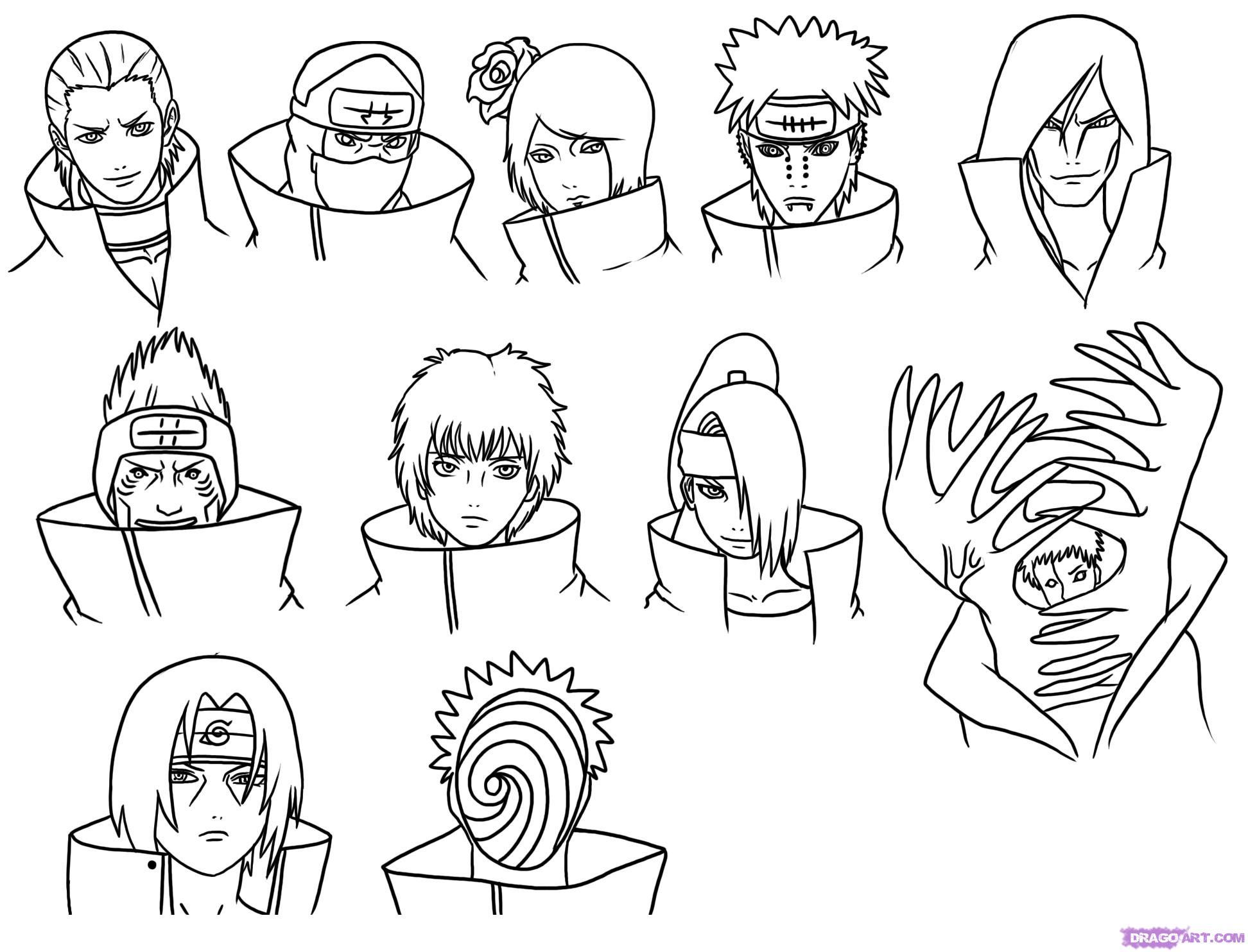 Naruto Drawing Step By Step