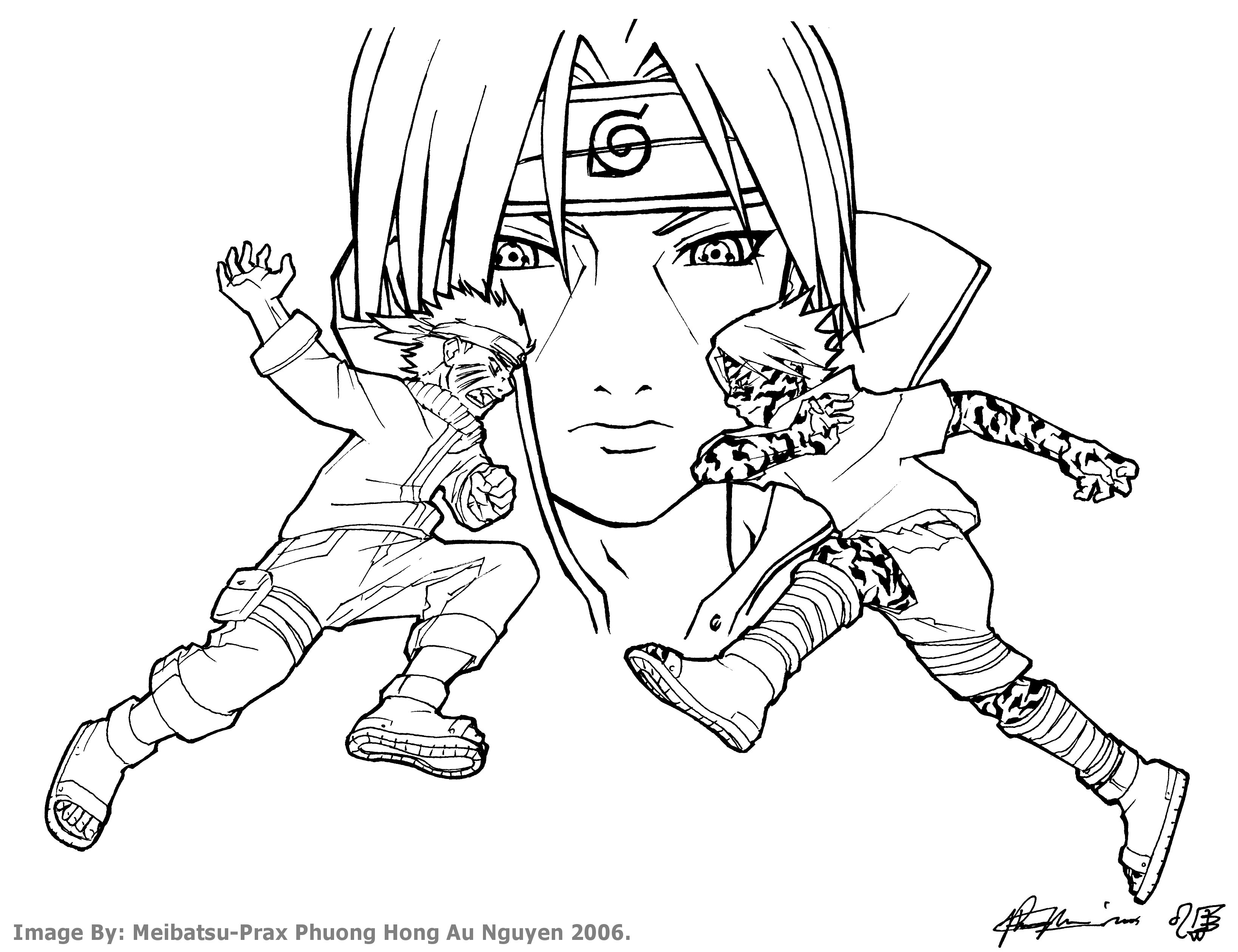 Naruto Drawing Step By Step At GetDrawings