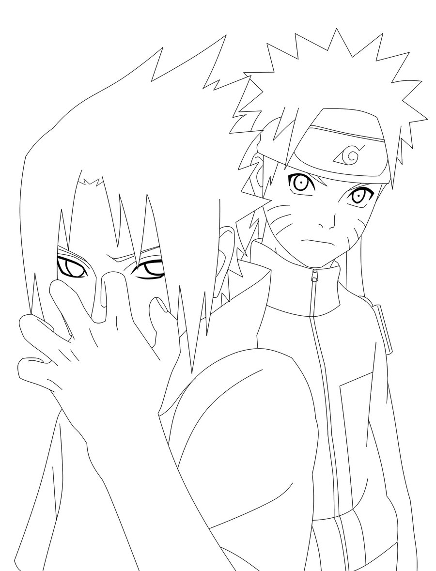 900x1179 Naruto Ch380 Pg16 Lineart By Thegamejc