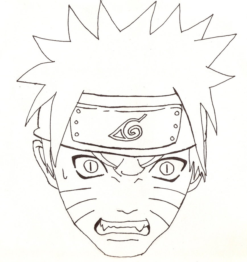 868x920 Naruto Head Outline By Cheshire5