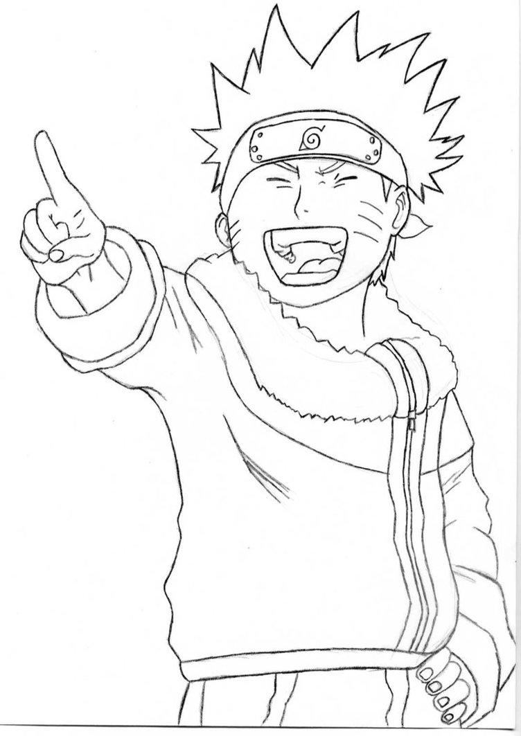 752x1063 Naruto Outline By Peanutbut4