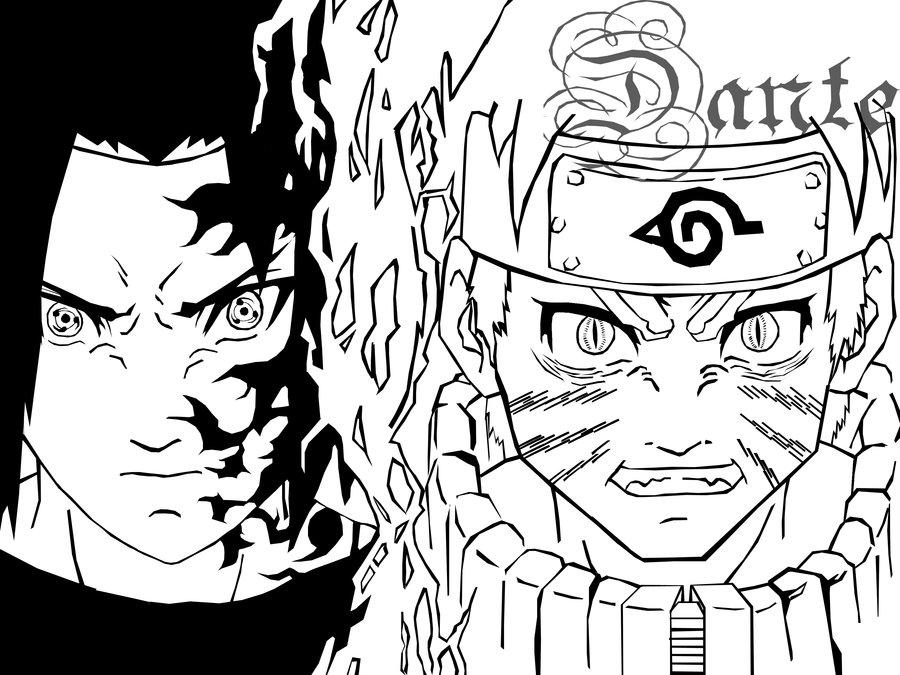 900x675 Sasuke Vs Naruto By Xevozzez