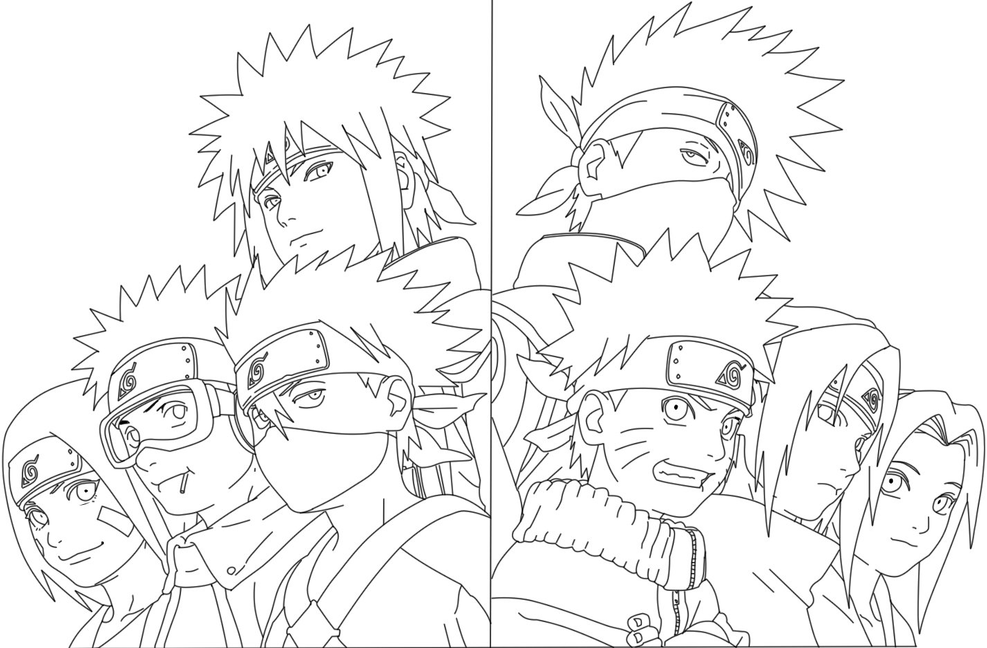Naruto Outline Drawing At Getdrawings
