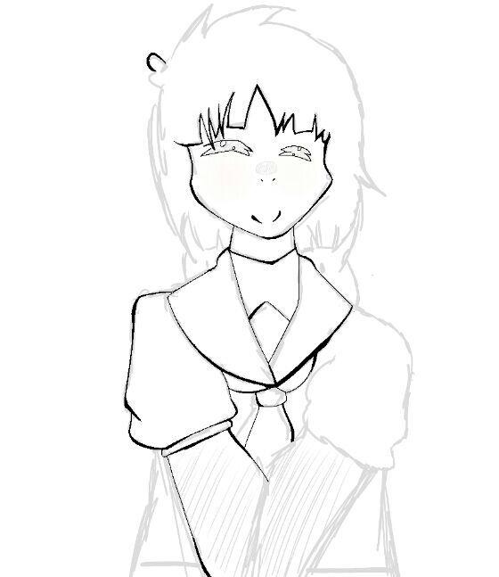560x647 Sumire (Class Rep)!drawing! Naruto Amino