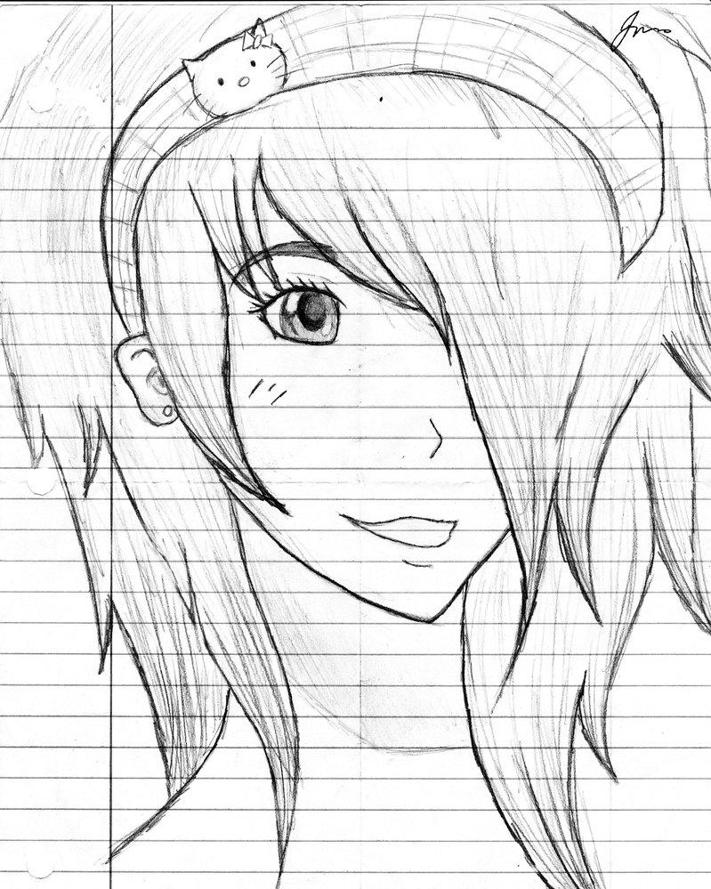 Naruto Pencil Drawing