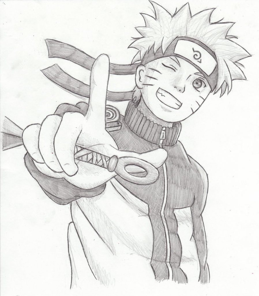 Naruto Pencil Drawing At GetDrawings