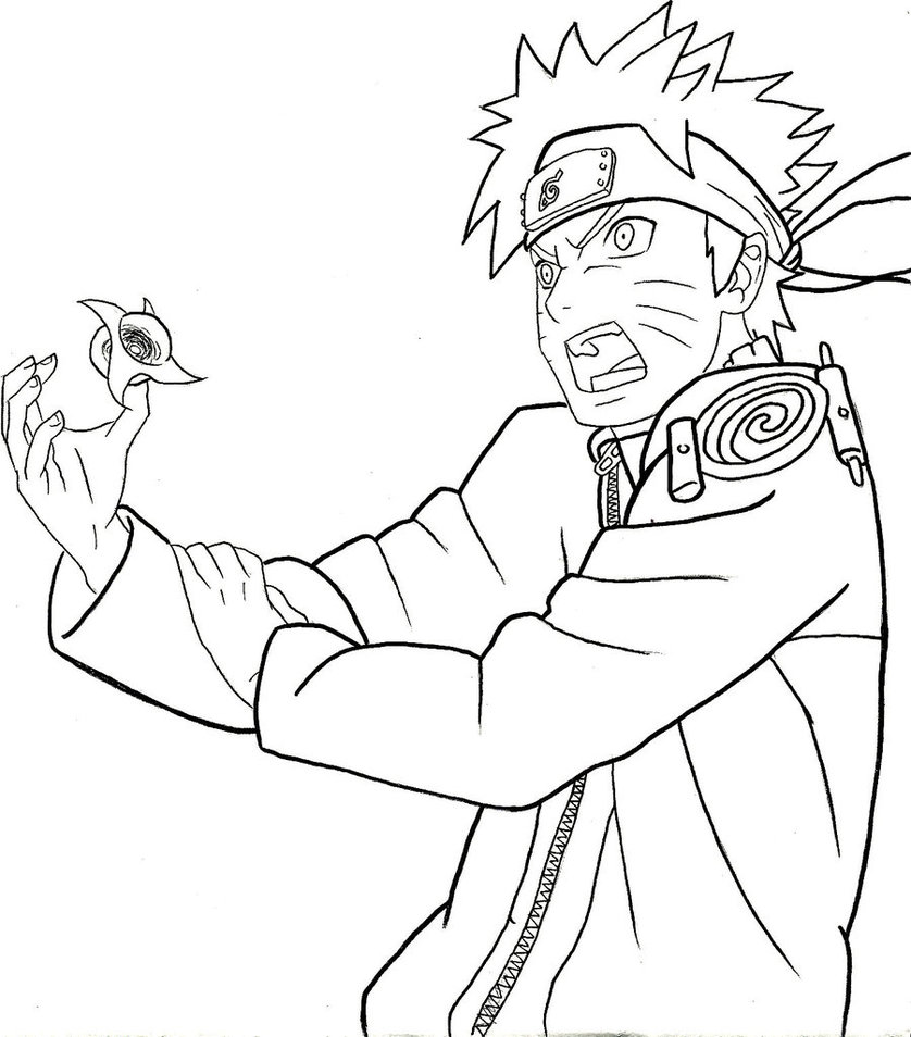 838x954 Naruto Rasen Shuriken Power By Asten 94