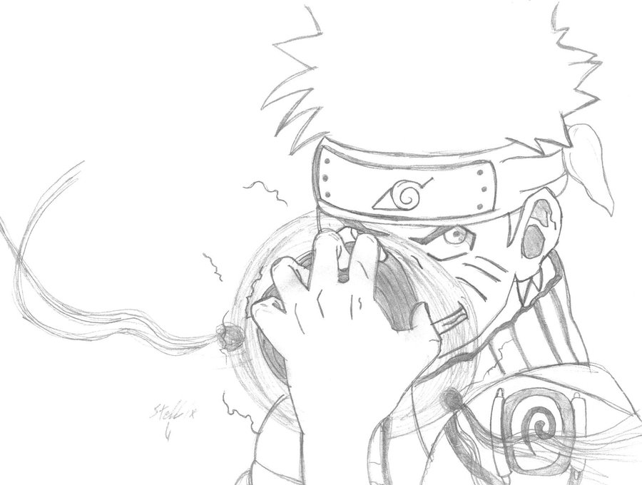 900x680 Power Of Naruto's Rasengan By Khado2