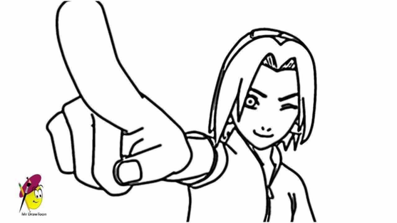 1280x720 Sakura Naruto How To Draw Sakura Naruto